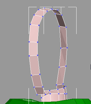 Head loop after moving vertices